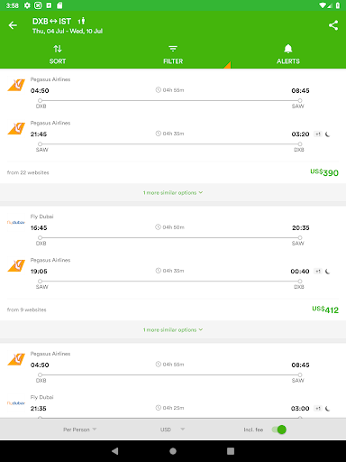 Wego Flights, Hotels, Travel Deals Booking App 6.0.7 Screenshots 21