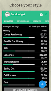 Goodbudget: Budget & Finance- screenshot thumbnail