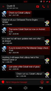 Crimson Cobalt Lollipop - CM12 v1.0.0