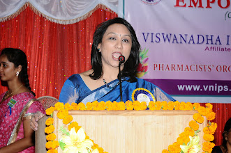 Photo: Speech by Guest of Honor - Dr. A.D. Madhavi