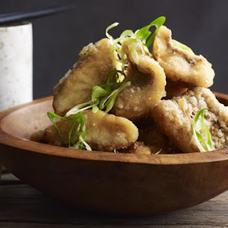 Marinated Deep-fried Snapper.
