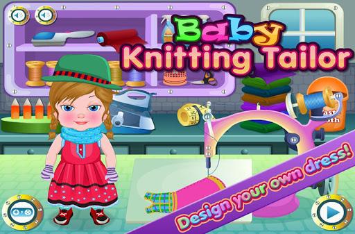 裁縫和針織一個可愛的生日禮服小寶貝普雷斯利的黨