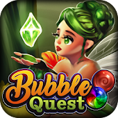 Bubble Pop Quest: Free Secret Elven Shooter Game