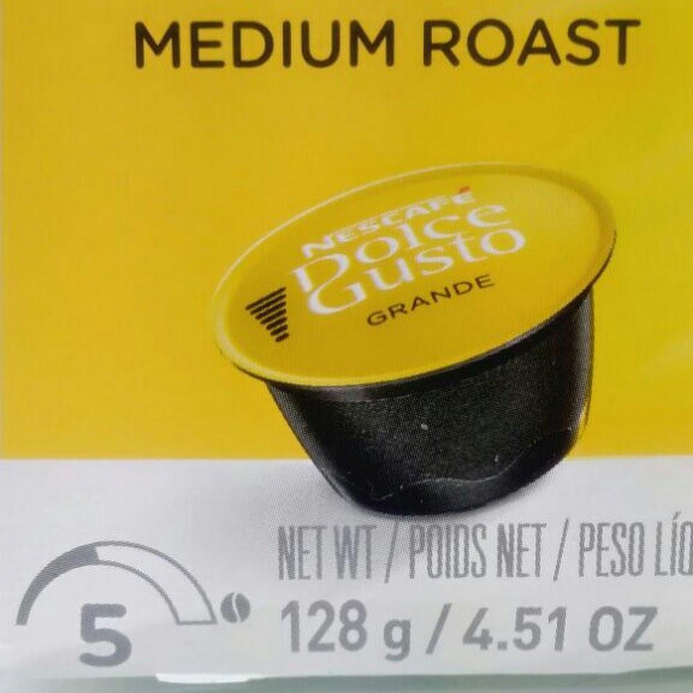 Nescafe Dolce Gusto GRANDE Medium ROAST 16 capsule
