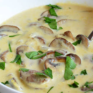 Low Fat Low Calorie Mushroom Soup Recipes.