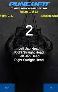 Download PunchFit: Boxing Coach For Heavybags Workouts For PC Windows and Mac apk screenshot 1