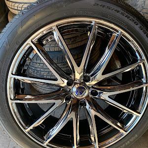 ハリアー ACU35W 18年式 240G Lパッケージ プライムセレクション 4WDのホイールのカスタム事例画像 ごんちゃんさんの2019年01月11日20:38の投稿