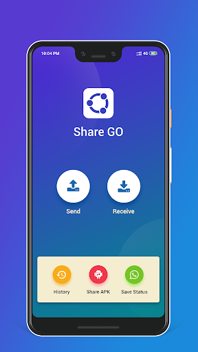 Share Go: Apps, Files, Music, Images, Videos 3.1 screenshots 1