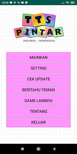 TTS Pintar Bahasa Inggris Indonesia - TTS Offline 1.12 screenshots 7