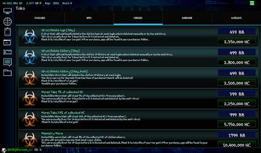 Hackers Online (MMO Simulator) 0.3.6.2 screenshots 16