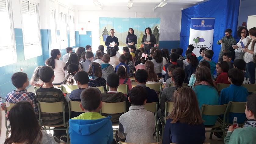 Desarrollo de la actividad en Balanegra.