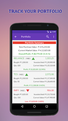 Indian Stock Market Quotes - Live Share Prices  screenshots 4