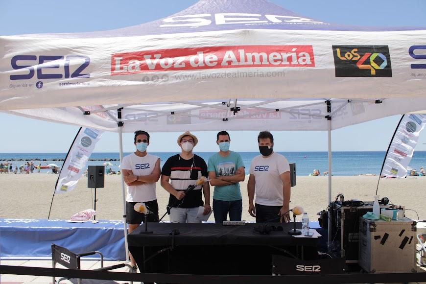Programa Hoy por Hoy Almería, Cadena SER en la Playa.