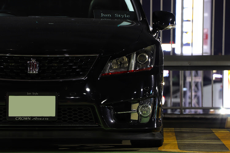 クラウンアスリート GRS200のJun Style,徘徊の帝王,福岡,CarTuneber,必殺アスリートショットに関するカスタム&メンテナンスの投稿画像5枚目