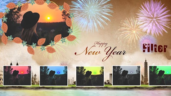 Welcome 2018 Photo Frame - náhled