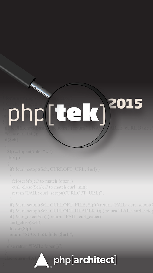 php[tek] 2015 Conference - screenshot