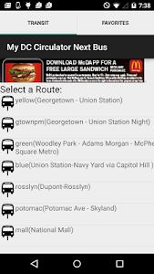My DC Next Bus screenshot 0