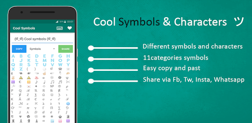 Cool Symbols Characters Apps On Google Play