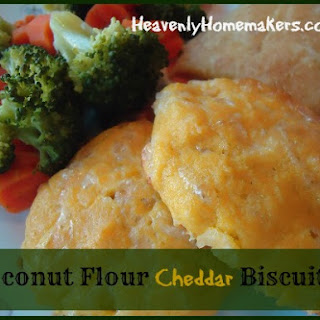 Coconut Flour Cheddar Drop Biscuits