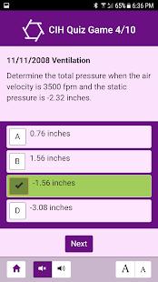 CIH Quiz Game - náhled