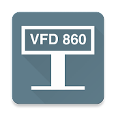 VFD 860 cust. display driver