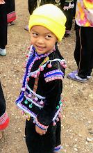 Photo: SDL visit Lahu girl