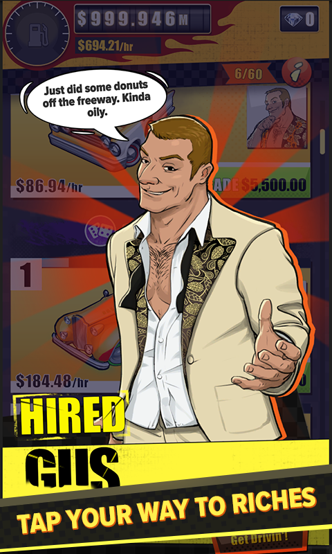 Crazy Taxi Gazillionaire- screenshot