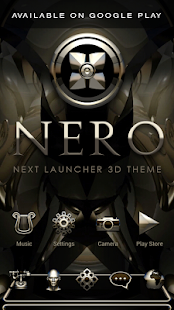 NERO Poweramp skin Screenshot