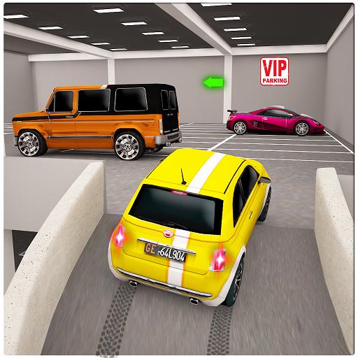 Street Prado Car Parking 3D