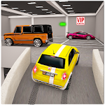 Street Prado Car Parking 3D Icon