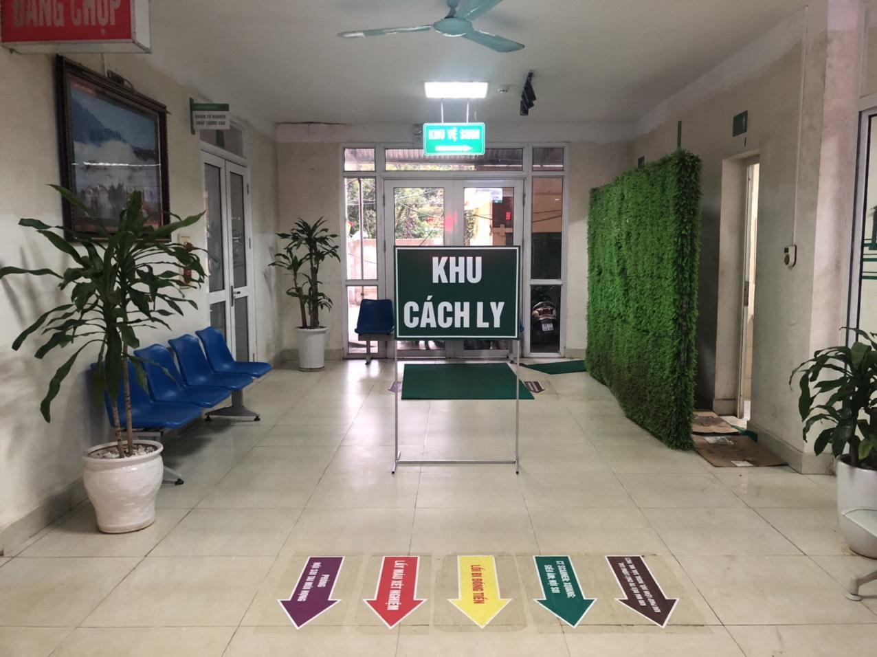 Chủ động sàng lọc, cách ly, điều trị người bệnh nghi bị Viêm phổi do 2019 -nCov tại trung tâm y tế huyện Cẩm Khê