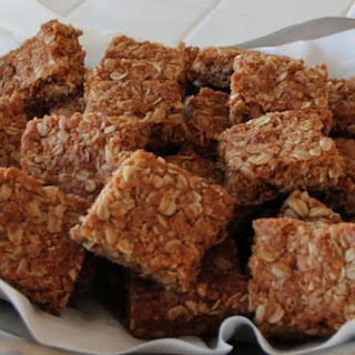 Crunchies - Traditional South African Oatmeal Cookie Bars Recipe