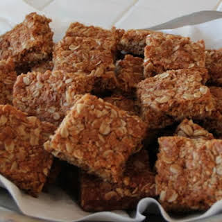 Crunchies - Traditional South African Oatmeal Cookie Bars.