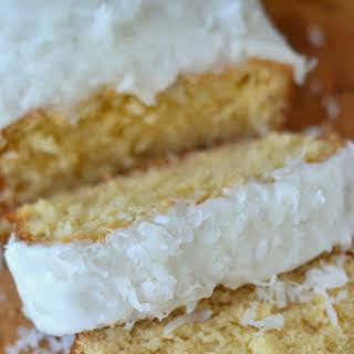 Triple Coconut Pound Cake.