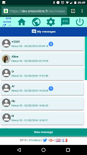 Smsonline: Sms on web browser- screenshot thumbnail