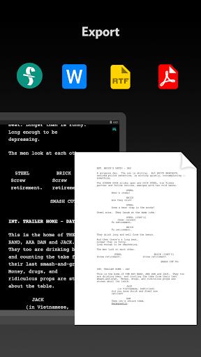 JotterPad - Writer, Screenplay, Novel 12.10.3-pi Screenshots 7