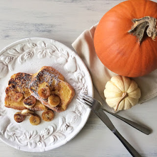 Pumpkin Pie French Toast