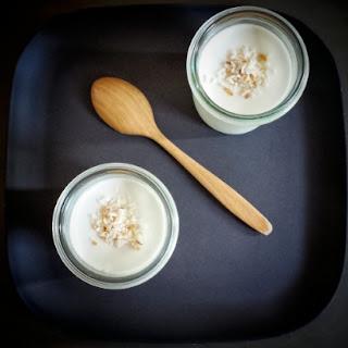 Coconut Milk Pudding.