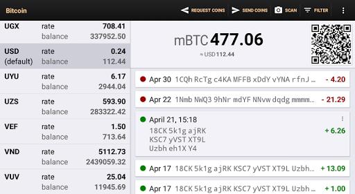 Bitcoin Wallet 8.02 screenshots 11