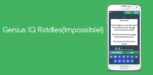 Genius IQ Riddles(Impossible!) - Apps on Google Play