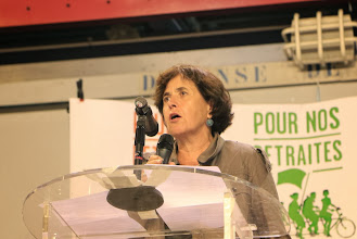 Photo: Annick Coupé (Solidaires)