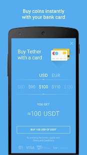 Tether Wallet- screenshot thumbnail