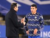 Thiago Silva salue chaleureusement Frank Lampard