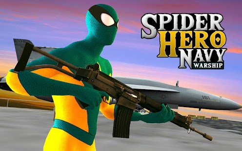 Spider Hero Navy Warship- screenshot thumbnail