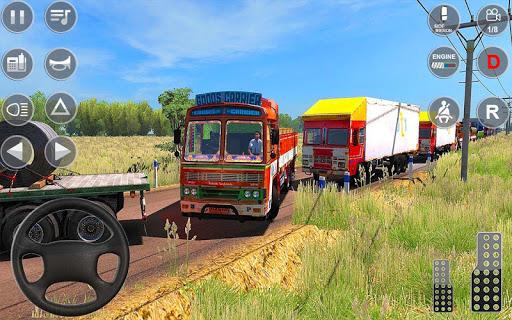Indian Truck Spooky Stunt : Cargo Truck Driver 1.0 screenshots 5