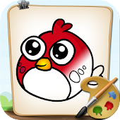 Angry Coloring Birds