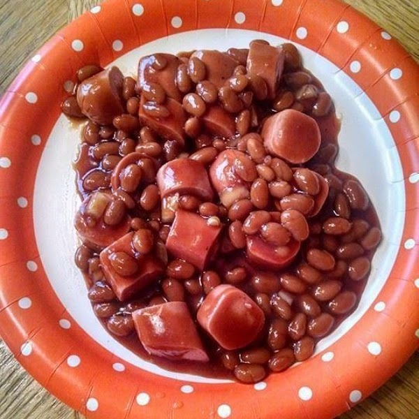Mom's Beans And Franks Recipe