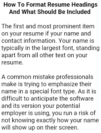 Can I Make A Cv My Phone 4 simple ways to write a