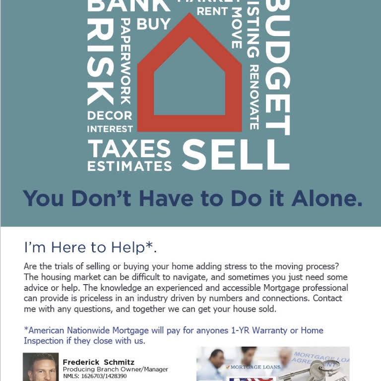 Frederick Schmitz: Your Mortgage Guy - Ask about our