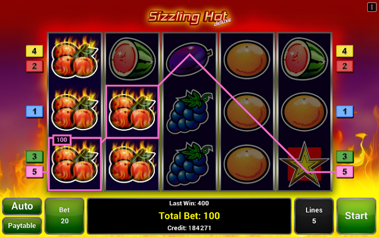 android Sizzling Hot™ Deluxe Slot Screenshot 1